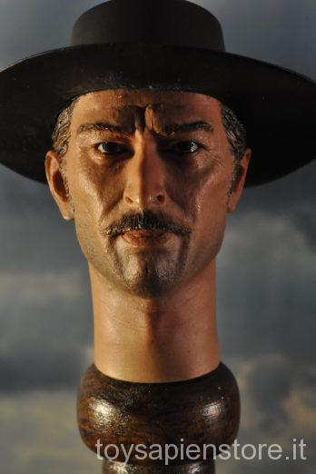 "HEAD-SCULPT JOE IL BIONDO ""IL BUONO"" CLINT EASTWOOD 25"